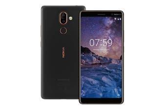 Nokia 7 Plus (64GB, Black/Copper)