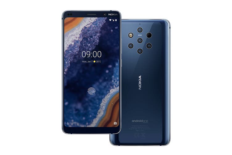 Nokia 9 PureView (128GB, Midnight Blue) - AU/NZ Model
