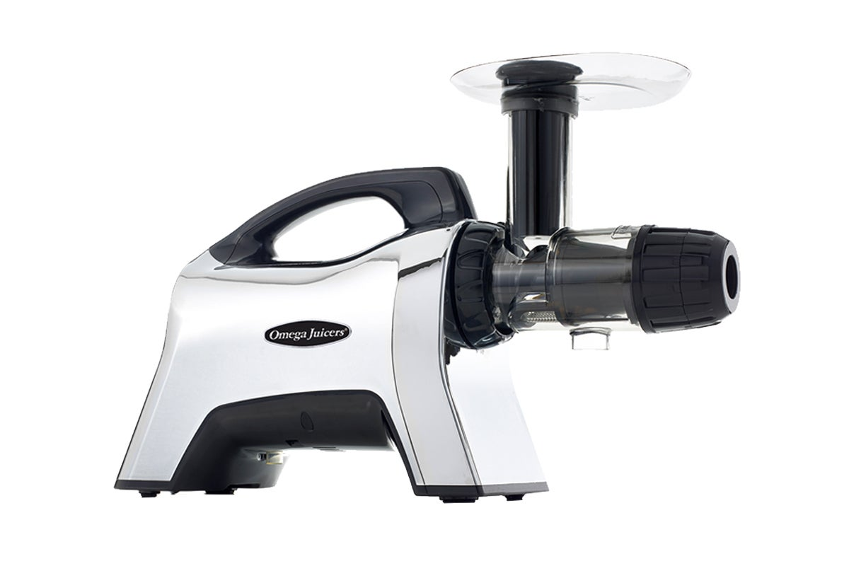 Omega NC1002HDC Cold Pressed Horizontal Slow Juicer with Pulp Adjustment Nozzle (NC1002HDC) | Juicers |