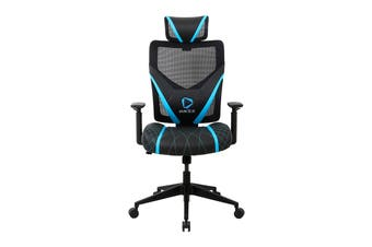 ONEX GE300 Breathable Ergonomic Gaming Chair - Black/Blue