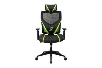 ONEX GE300 Breathable Ergonomic Gaming Chair - Black/Green