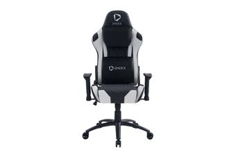 ONEX GE300 Breathable Ergonomic Gaming Chair - Black/White