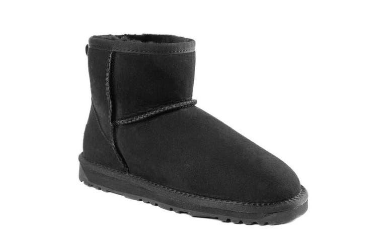 Ozwear UGG Women's Classic III Mini Boots -  Water Resistant (Black, Size 37 EU)