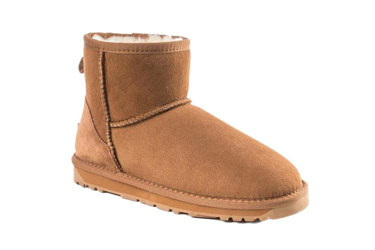 Ozwear UGG Women's Classic III Mini Boots - Water Resistant (Chestnut, Size 38 EU)