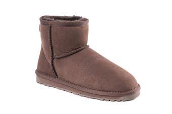 Ozwear UGG Women's Classic III Mini Boots - Water Resistant (Chocolate, Size 37 EU)