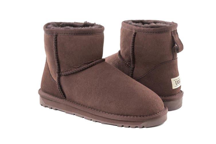 Ozwear UGG Women's Classic III Mini Boots - Water Resistant (Chocolate, Size 40 EU)