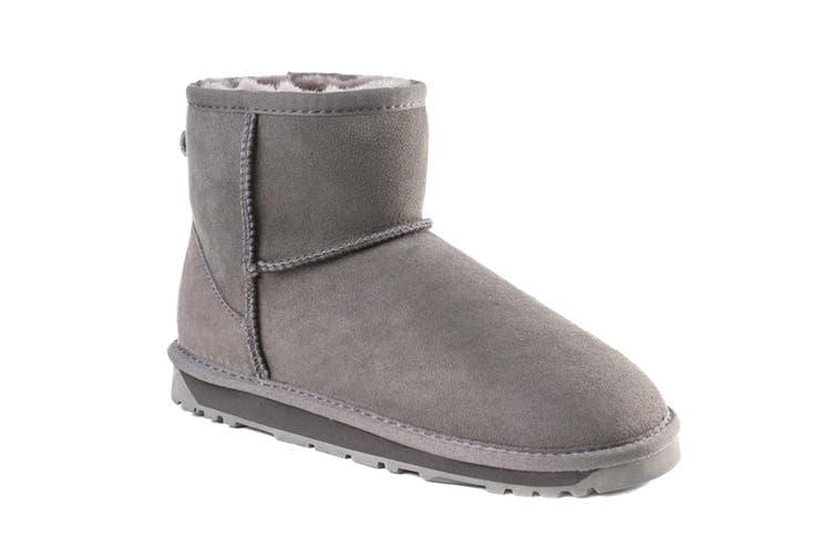 Ozwear UGG Women's Classic III Mini Boots  - Water Resistant (Grey, Size 38 EU)