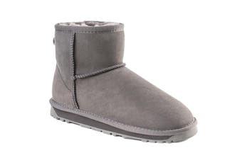 Ozwear UGG Women's Classic III Mini Boots - Water Resistant (Grey, Size 39 EU)
