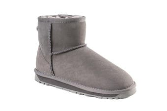 Ozwear UGG Women's Classic III Mini Boots - Water Resistant (Grey, Size 40 EU)