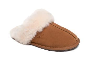 Ozwear UGG Genesis Slipper (Chestnut, Size XL)