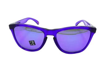 Oakley 0OO9013 Sunglasses (Crystal Purple) - Violet Iridium Polarised