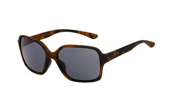 Oakley 0OO9312 Proxy Sunglasses(Matte Brown Tortoise) - Grey
