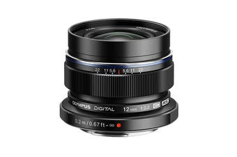 Olympus EW-M1220 M.Zuiko 12mm f2.0 Wide Lens - Black