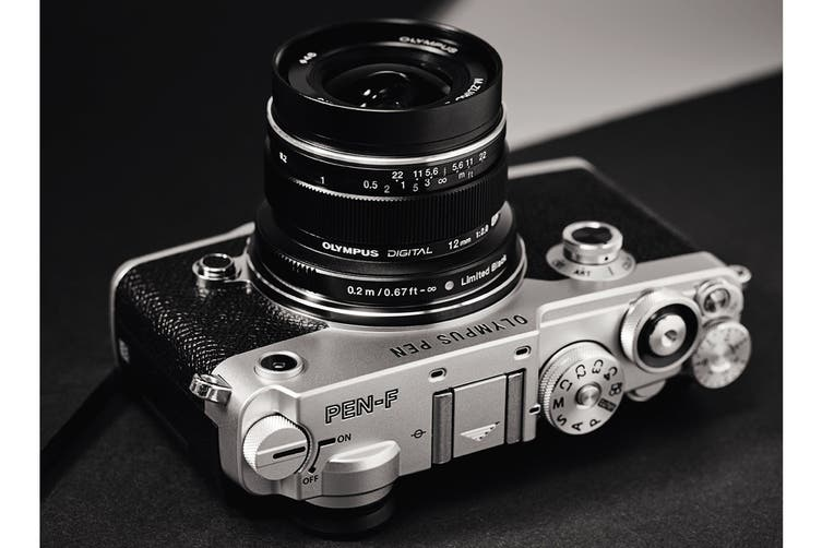 Olympus EW-M1220 M.Zuiko 12mm f2.0 Wide Lens - Black