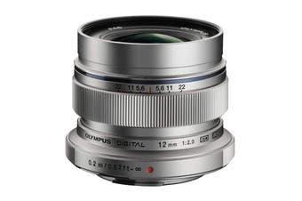 Olympus EW-M1220 M.Zuiko 12mm f2.0 Wide Lens - Silver