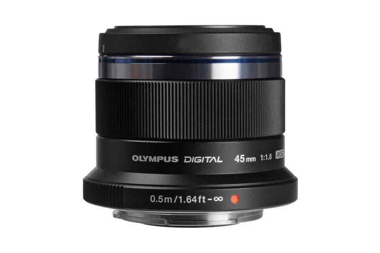 Olympus ET-M4518 M.Zuiko 45mm f1.8 Portrait Lens - Black
