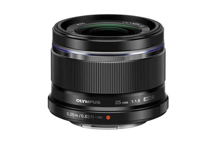 Olympus ES-M2518 M.Zuiko 25mm f1.8 Portrait Lens - Black