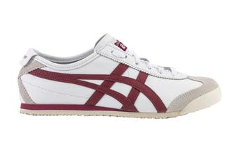Onitsuka Tiger Mexico 66 Shoe (White/Burgundy, Size 9 US)