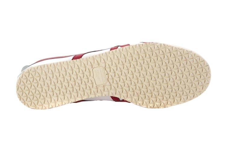 Onitsuka Tiger Mexico 66 Shoe (White/Burgundy, Size 9 US)
