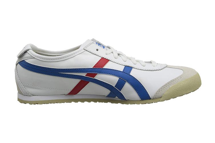 Onitsuka Tiger Mexico 66 Shoe (White/Blue, Size 8 US)