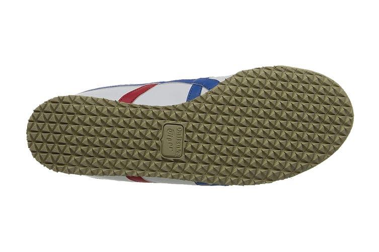 Onitsuka Tiger Mexico 66 Shoe (White/Blue, Size 4 US)