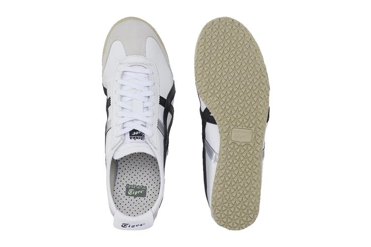 Onitsuka Tiger Mexico 66 Shoe (White/Black, Size 10 US)