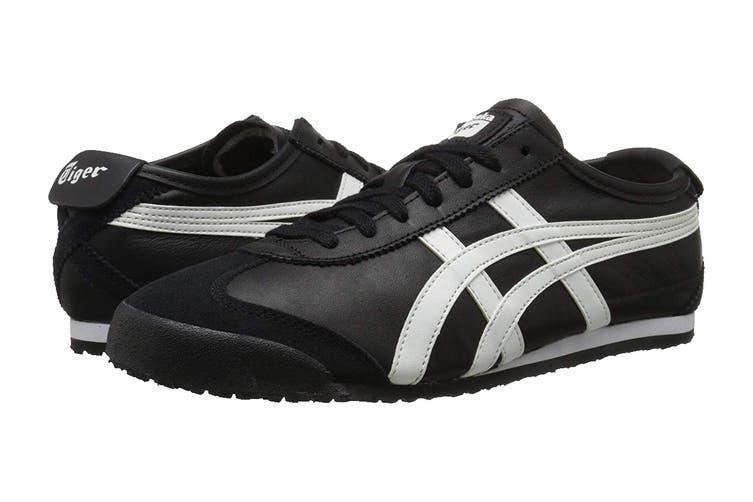 Onitsuka Tiger Mexico 66 Shoe (Black/White, Size 4 US)