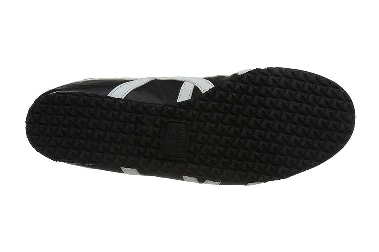Onitsuka Tiger Mexico 66 Shoe (Black/White, Size 5 US)