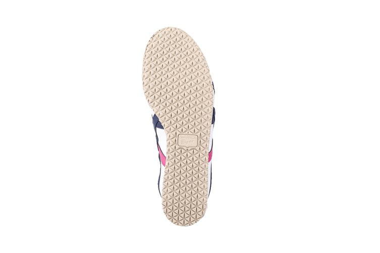 Onitsuka Tiger Mexico 66 Shoe (White/Navy/Pink, Size 4 US)