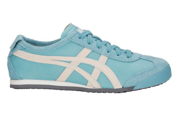 Onitsuka Tiger Mexico 66 Shoe (Gris Blue/Oatmeal, Size 7)