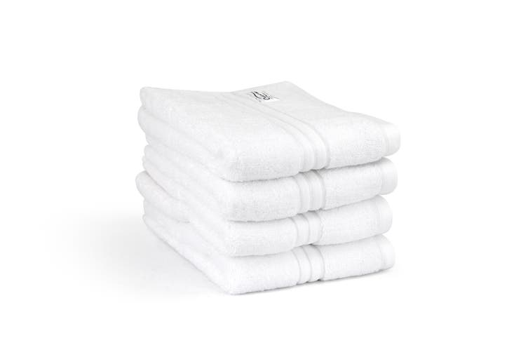 Onkaparinga Haven 600gsm Hand Towel Set of 4 (White)