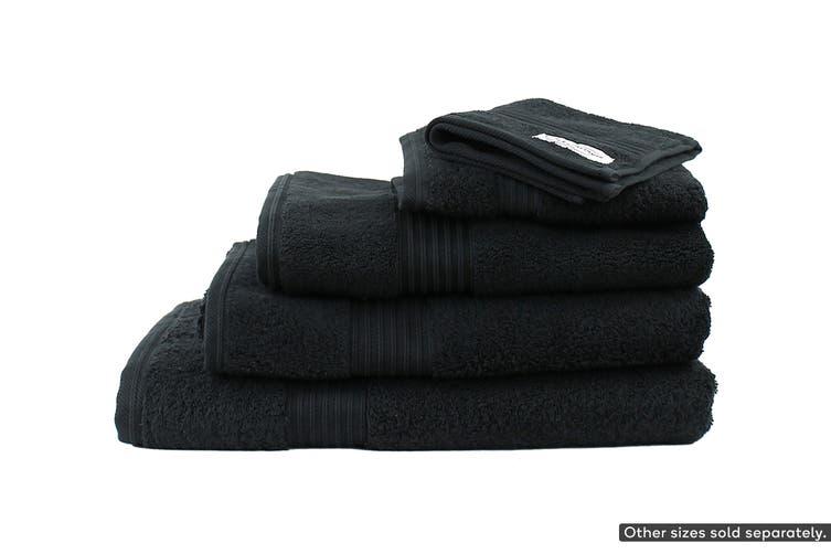 Onkaparinga Ultimate 100% Turkish Cotton Bath Towel Set of 2 (Black)