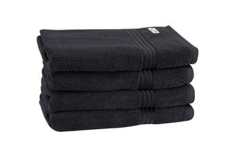 Onkaparinga Haven 600gsm Bath Towel Set of 4 (Charcoal)