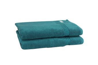 Onkaparinga Haven 600gsm Bath Sheet Set of 2 (Jade)