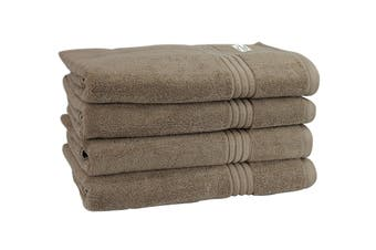 Onkaparinga Haven 600gsm Bath Towel Set of 4 (Mocha)