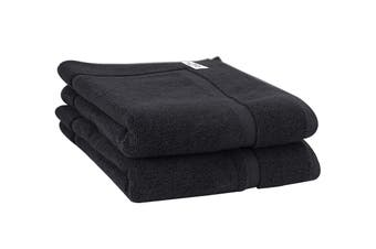 Onkaparinga Haven 600gsm Bath Mat Set of 2 (Charcoal)