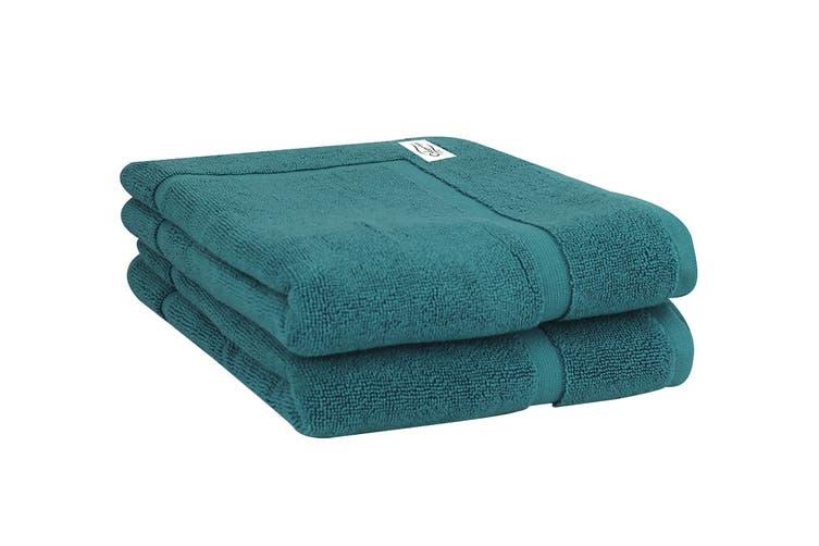 Onkaparinga Haven 600gsm Bath Mat Set of 2 (Jade)