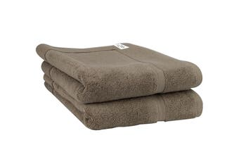 Onkaparinga Haven 600gsm Bath Mat Set of 2 (Mocha)