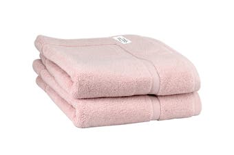 Onkaparinga Haven 600gsm Bath Mat Set of 2 (Pink)