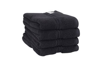 Onkaparinga Haven 600gsm Hand Towel Set of 4 (Charcoal)