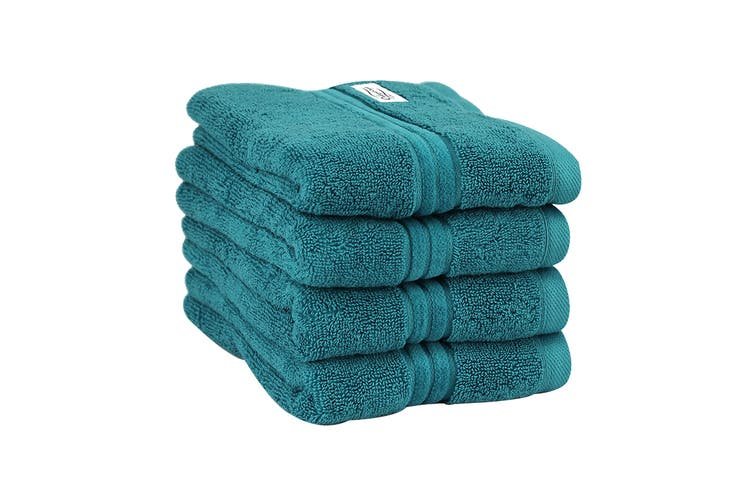 Onkaparinga Haven 600gsm Hand Towel Set of 4 (Jade)