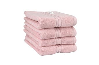 Onkaparinga Haven 600gsm Hand Towel Set of 4 (Pink)