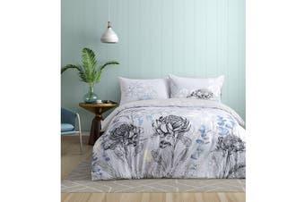 Onkaparinga Eucalyptus Quilt Cover Set - Queen