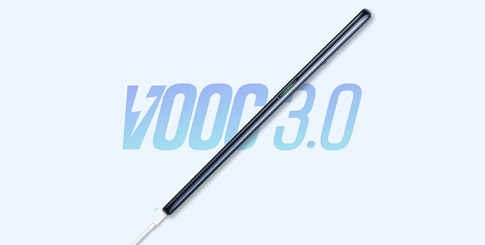 VOOC 3.0 + 4065mAh battery