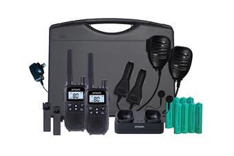 Oricom 2 Watt Handheld Radio Tradies Twin Pack (UHFTP2390)