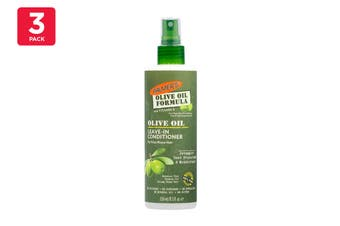 Palmer's 250ml Olive Oil Leave In Conditioner For Frizz Prone Hair (3 Pack)