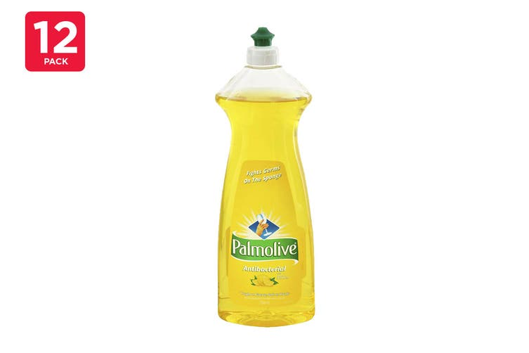 Palmolive 750ml Dishwashing Liquid Antibacterial Lemon (12 Pack)