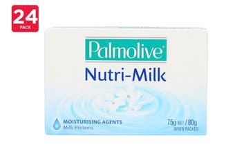 Palmolive 75G Soap Bar Nutri Milk (24 x 3 Pack)