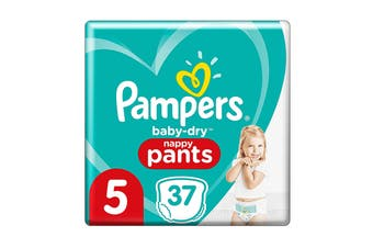 Pampers 37 Pack Walker Nappy Pants (Size 5)