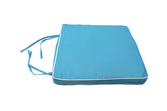 Patio Living Chair Pad - Aqua